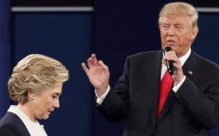 Trump a Clinton: Si fuese presidente, usted estaría presa