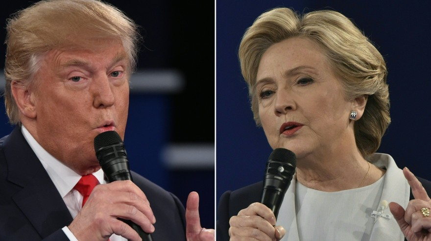 Hillary Clinton vs. Donald Trump: Los candidatos se enfrentaron en segundo debate. (AFP)