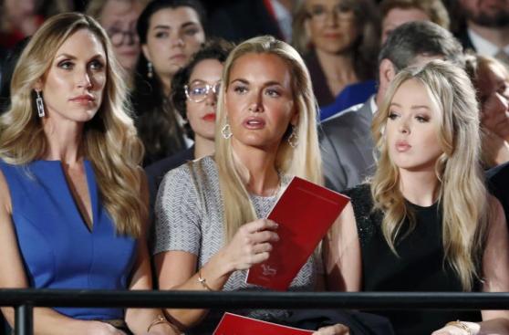 Así vivió el debate la familia de Donald Trump [FOTOS]