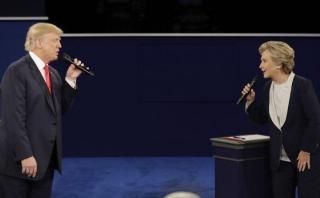 """Debate Clinton vs Trump: Así fue """"segundo round"""" presidencial"""