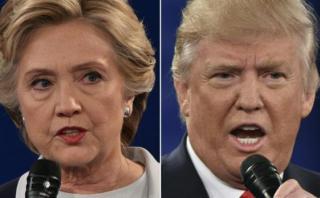 Clinton ganó el debate para el 67% de lectores de El Comercio