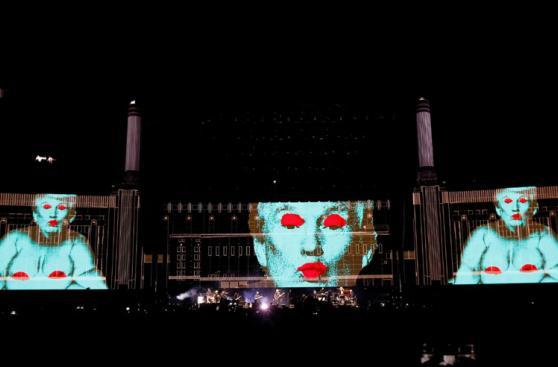 Roger Waters ridiculizó a Trump durante show en California
