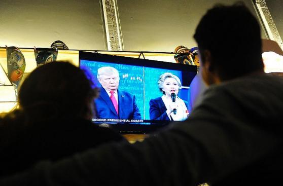De China a México: Así se vio el debate entre Clinton y Trump