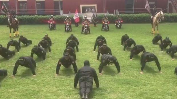 Policía Nacional lanza este reto a los carabineros — Perú vs Chile