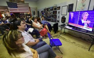 ¿Cuánta gente vio el segundo debate entre Clinton y Trump?
