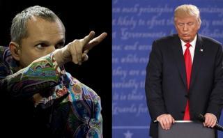 """Bosé sobre Trump: """"Es demente, ególatra, paranoico y calígula"""""""