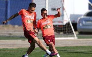 Gareca prácticamente definió el once que iniciará ante Chile