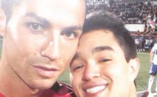 Cristiano: la historia del peruano que se tomó un selfie con él