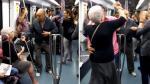 Pareja de ancianos sorprende al bailar hip hop en el metro - Noticias de hip hop