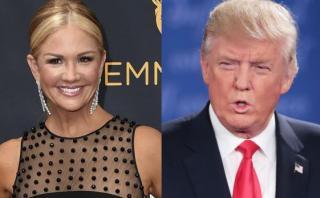 Trump se refería a ella en su lamentable grabación sexista