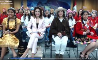 Los consejos de Michelle Obama para las niñas peruanas [VIDEO]
