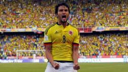 Colombia: Aguilar anotó gol de cabeza contra Uruguay [VIDEO]