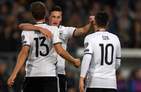 Alemania venció a Irlanda del Norte y sigue firme rumbo a Rusia