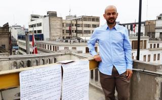 """Bruno Pólack nos lee el poema """"Universal/ Particular"""" [VIDEO]"""