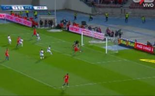La increíble chance de gol que Vidal erró solo ante Gallese