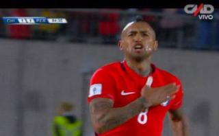 Selección peruana: Vidal convirtió el segundo tras media vuelta