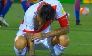 Paolo Guerrero y su estremecedor lamento en Santiago [VIDEO]
