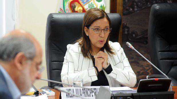 Julia Príncipe es designada asesora del Ministerio de Justicia