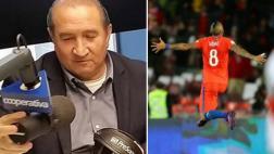 Chileno narró segundo gol de Vidal al borde de las lágrimas