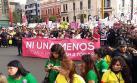 Frase de #NiUnaMenos trasciende fronteras y remece las redes