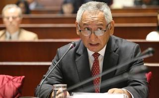 Cornejo negó haber despachado en Palacio con Nadine Heredia