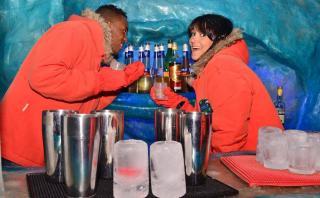 Disfruta de una noche única en este bar de hielo en Argentina
