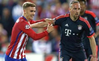 """Ribéry cuestiona a Antoine Griezmann: """"No es de clase mundial"""""""