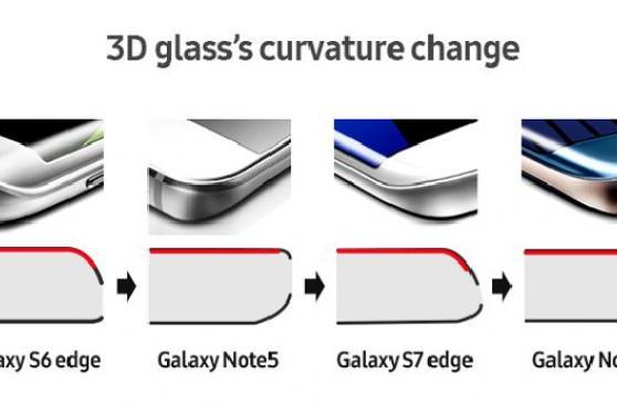 La simetría en el diseño del Note 7 habría causado las fallas