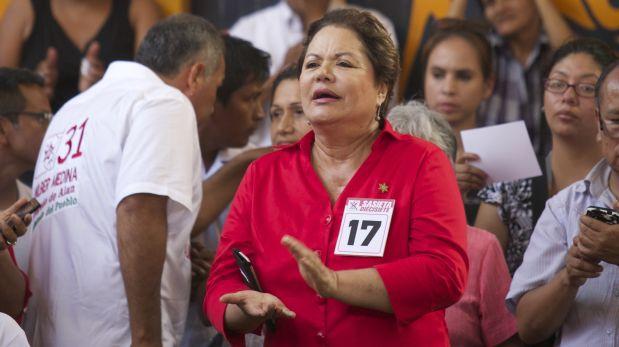 Rosario Sasieta fue designada asesora del Mininter