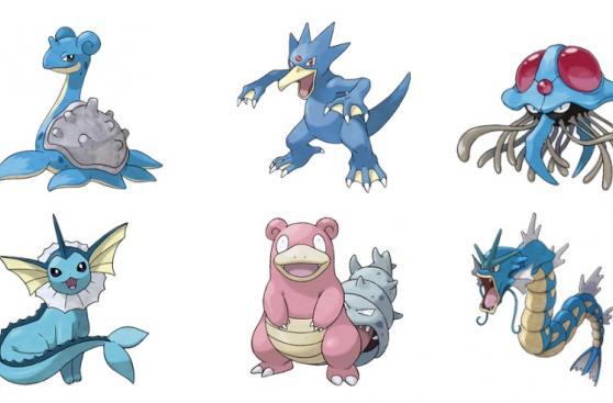 Pokémon Go: los pokémones de tipo agua que aseguran un triunfo