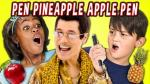 """Así reaccionan los niños al """"Pen Pineapple Apple Pen"""" [VIDEO] - Noticias de fine brothers"""