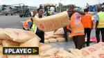 Haití recibió primeros envíos de ayuda humanitaria [VIDEO] - Noticias de huracán gonzalo