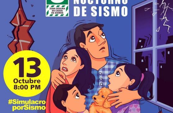 Peruanos participaron en simulacro nocturno de sismo y tsunami