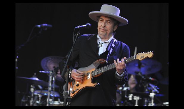 Julio del 2012. Bob Dylan en la XXI edición del Vieilles Charrues Music Festival.