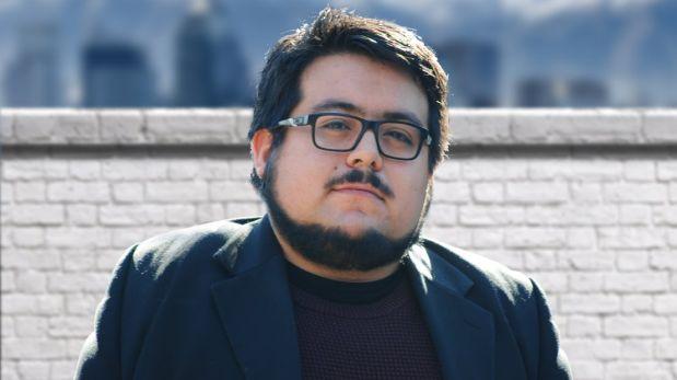 Diego Zúñiga, escritor y periodista chileno. Su primera novela,