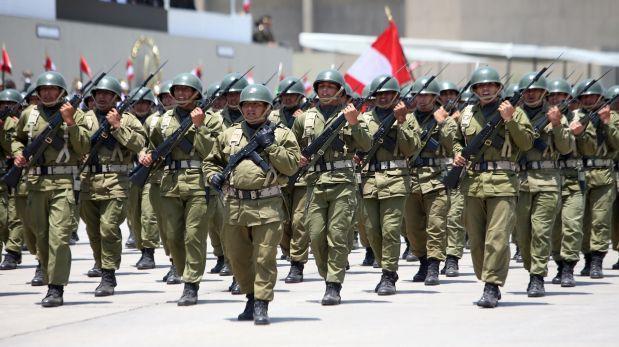 Ministerio de Defensa oficializó ascensos en Fuerzas Armadas