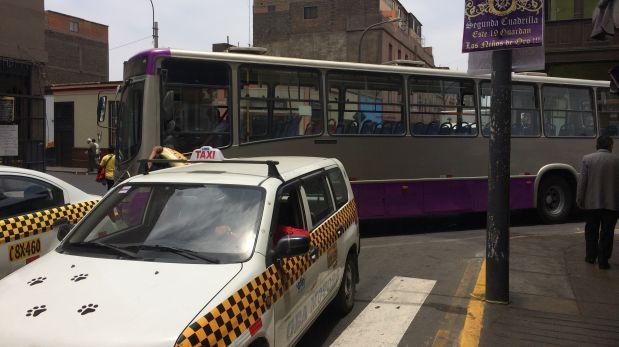 Corredor SJL: buses ocasionan gran congestión en centro de Lima