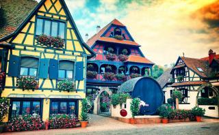 Este pueblo francés te transportará al mundo de Disney
