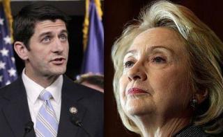 Líder republicano: Clinton quiere panorama sombrío sobre EE.UU.