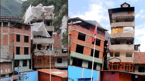 Machu Picchu: inician demolición de edificio de siete pisos