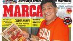 Maradona habló de Cristiano, Lionel Messi y el Perú-Argentina - Noticias de pelé