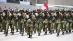 Ministerio de Defensa oficializó ascensos en Fuerzas Armadas - Noticias de jorge molina