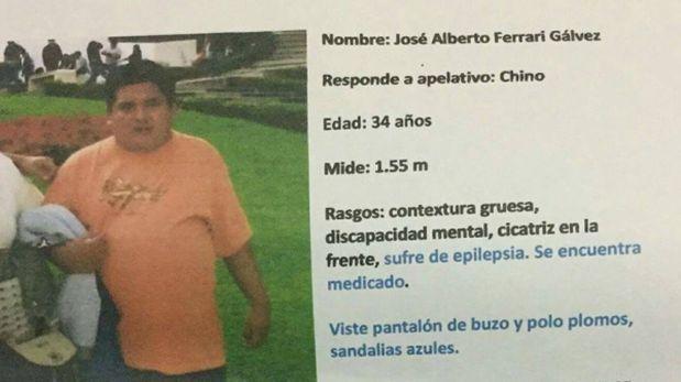 Ayuda social: buscan a joven perdido en La Molina hace 14 días