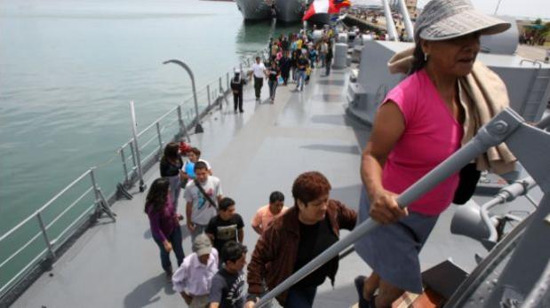 Base Naval del Callao abierta al público el 15 y 16 de octubre
