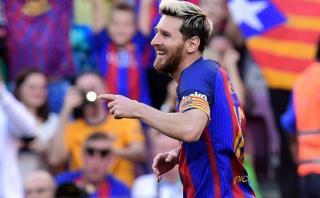 Lionel Messi volvió y en la primera jugada marcó este golazo