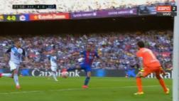 Barcelona: Alcácer erró tres goles de manera increíble [VIDEO]