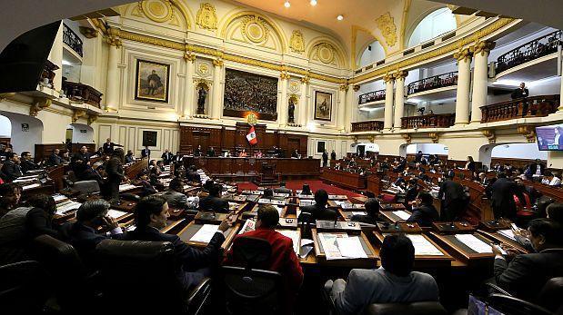 Congreso oficializa ley contra el transfuguismo parlamentario