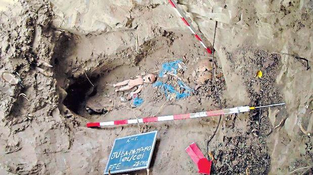 Entre las 23 víctimas de Sendero Luminoso había una niña de menos de 5 años, además de un menor de unos 13 años. (PNP)