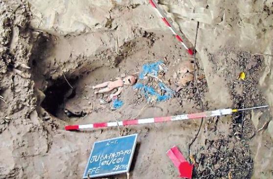 Forenses analizarán restos de nativos víctimas del terrorismo