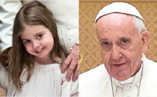 La tierna entrevista de la hija de Macri al papa Francisco
